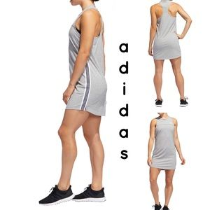 adidas Gray Changeover Racerback Dress Women's M